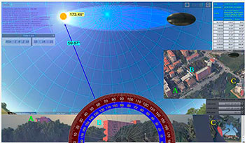 27 SOLARE 03 Mappatura in gradi Stellarium SP 02doc freccia Solare illuminazione web