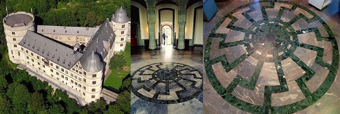03 Castello Wewelsburg e sole nero web
