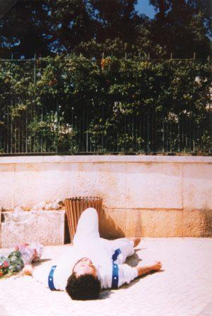 2 de Setiembre 1989 Giorgio recibe los estigmas por parte de la Virgen.