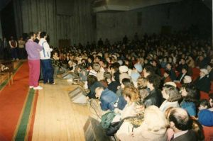 """Rusia - Moscú 22 de Marzo 1992 Conferencia pública en la """"Casa de la Cultura"""""""