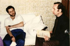 Rusia - Moscú 26 de Marzo 1992 Encuentro con el Doctor Vyaceslav F. Potemkin, presidente de la Academia Internacional de Científicos Independientes.