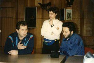 Rusia - Moscú 5 de Abril 1992 Giorgio entrevista al General de 2 estrellas Kovalënok.