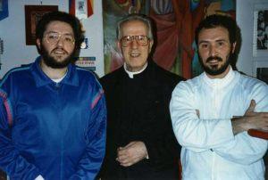 Italia - Roma 11 de Abril 1992 Encuentro con el Monseñor Corrado Balducci.