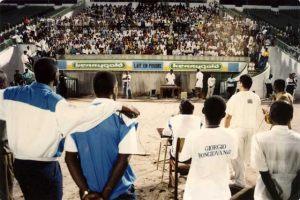 Zaire 25 de Diciembre 1992 Conferencia Pública en el Estadio Tata Raphael.