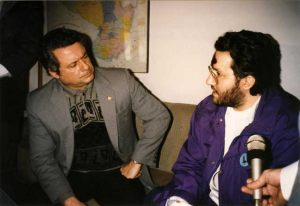 Paraguay Julio 1993 encuentro con el Vice Presidente del Paraguay Doctor A.R.Seifart.