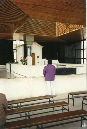 Portugal - Fátima Marzo 1995 Giorgio en el Santuario de la Virgen de Fátima.