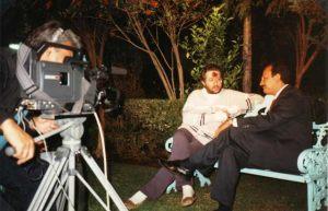 México - Ciudad de México Giorgio entrevistado en la TV Azteca.
