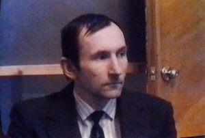 Rusia - Tver 5 de Febrero 1997 Viaceslav Bulojcik comandante mayor de la Academia Especial de Investigación OVNI en Rusia.