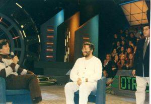 Viaje a Sudamérica 29 de Junio 1997 Giorgio entrevistado en TV
