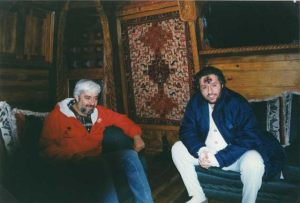 México 15 de Enero 1998 Giorgio Bongiovanni con Jaime Maussan.