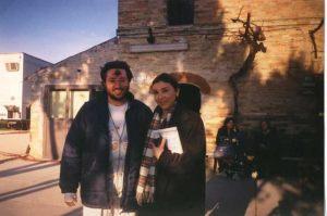 "Italia - Porto S. Elpidio 5 de Febrero 1998 Giorgio entrevistado en el programa ""Cronaca in diretta"" Rai2."