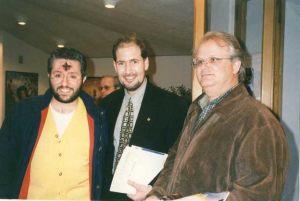 San Marino 5 de Abril 1998 Giorgio en Congreso Ufológico.